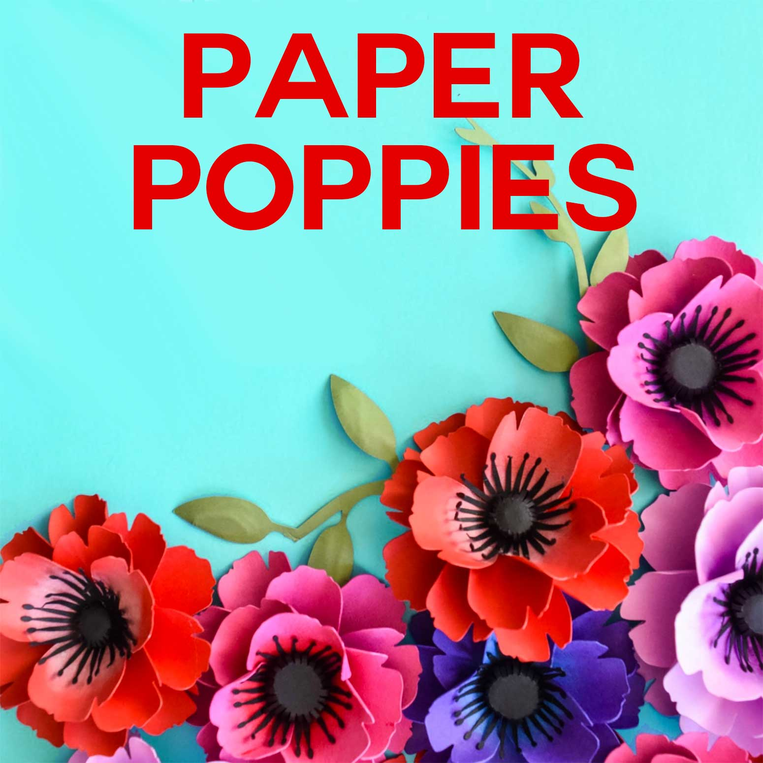 paper poppy flower instructions