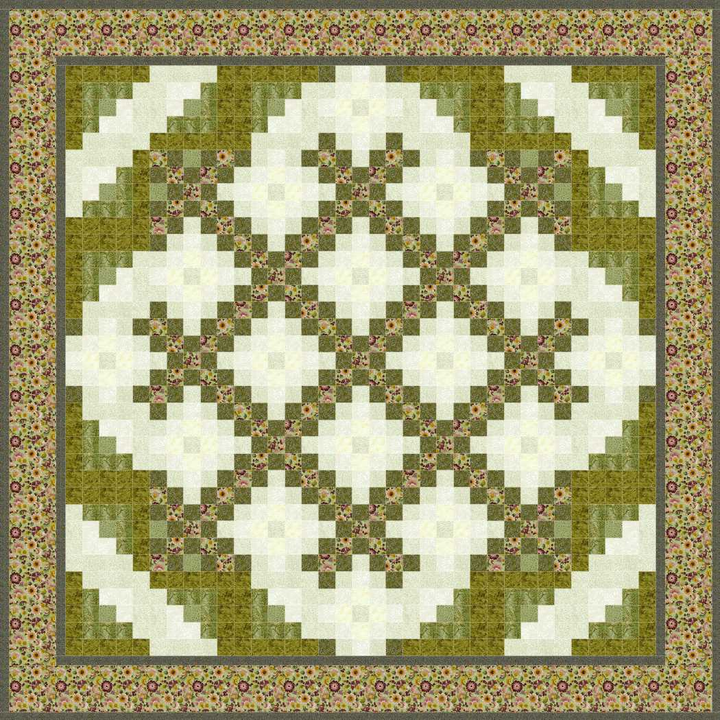 chain piecing a double irish chain quilt instructions