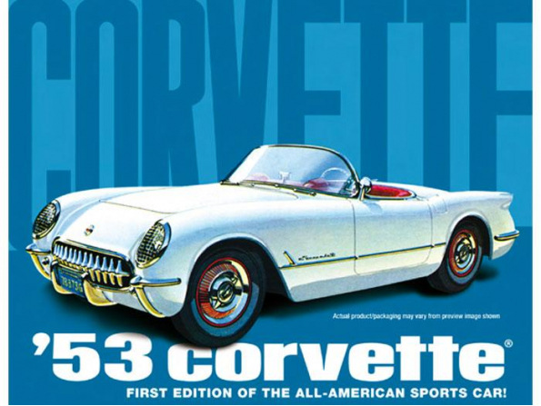 1 24 1953 corvette instructions