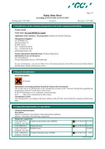 fuji ortho lc instructions