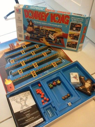 game instructions milton bradley donkey kong