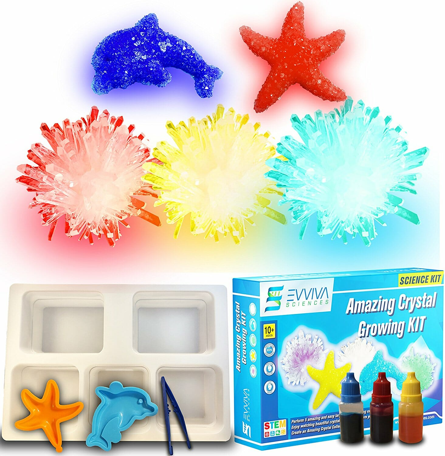 ultimate crystal growing kit instructions
