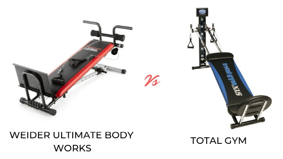 weider ultimate body works setup instructions