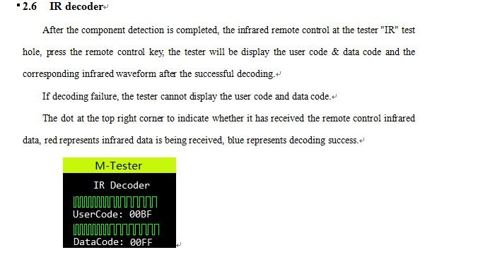 lcr tester instructions esr