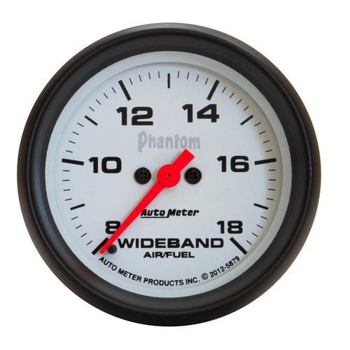 autometer phantom wideband instructions