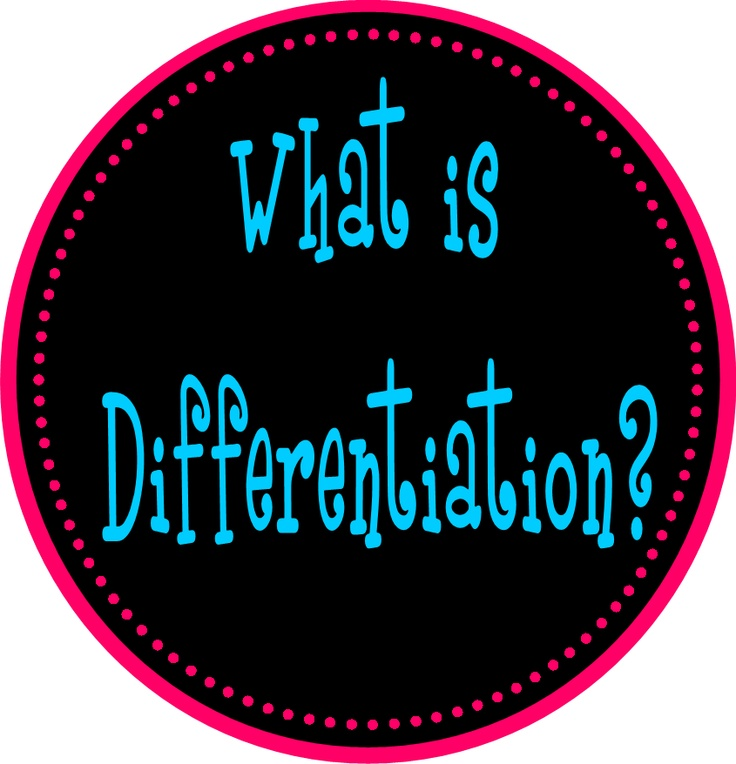 six principles of differentiated instruction