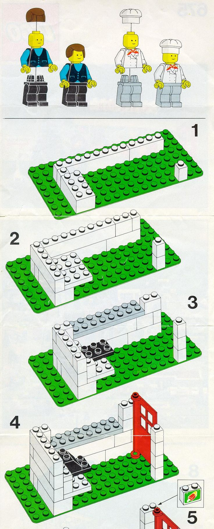 instructions on building a bar