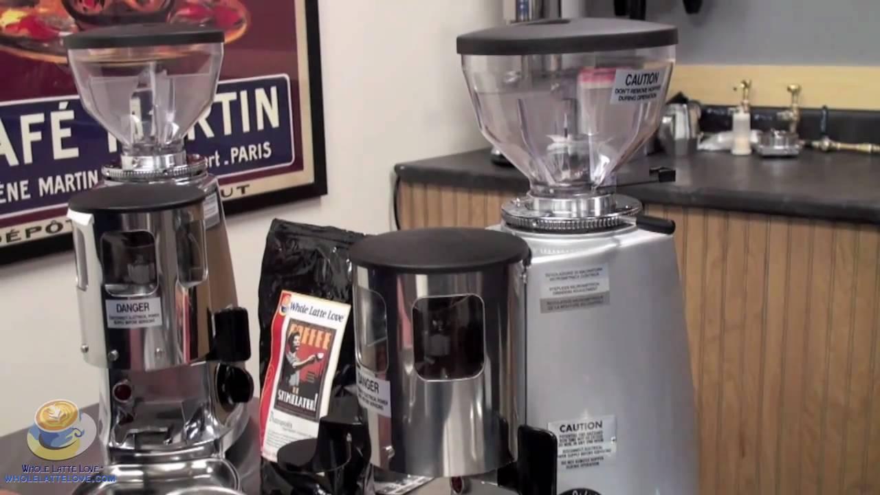 mazzer mini coffee grinder instructions