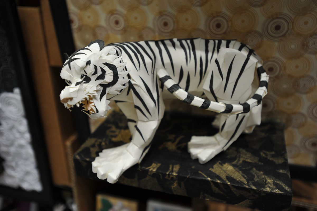 furreal white tiger instructions