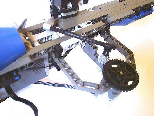 lego technic machine gun instructions