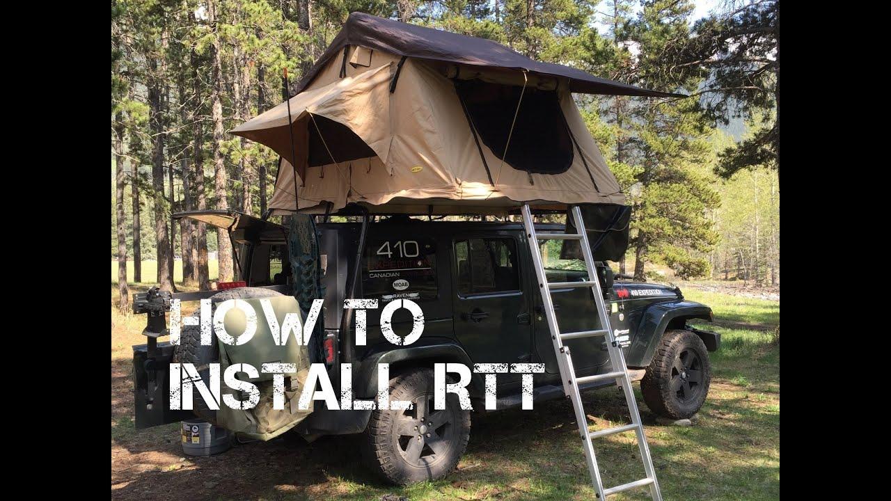 smittybilt roof top tent instructions