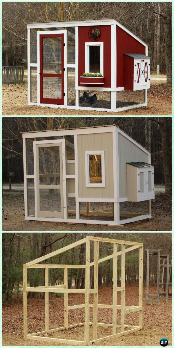 how to make a chicken coop instructions