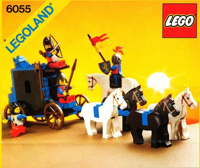 lego black knights castle instructions