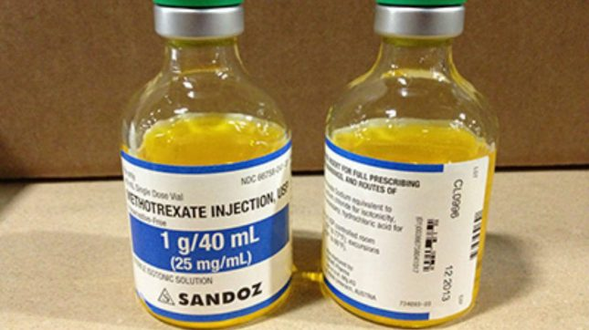 special instructions for administering methotrexate