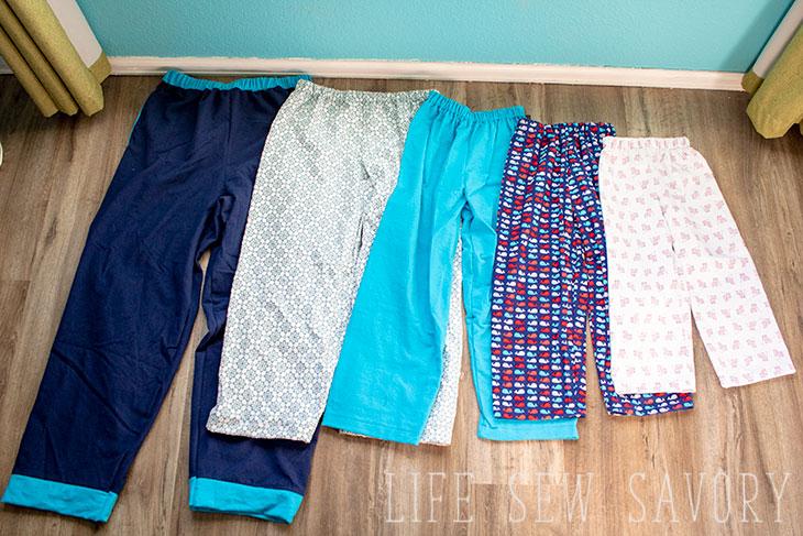 pajama pants pattern instructions