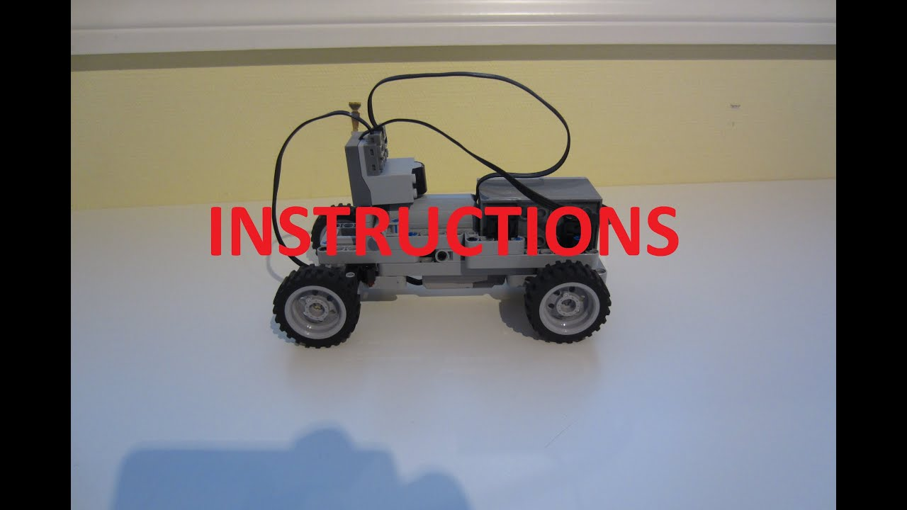 instructions for lego mini rc car