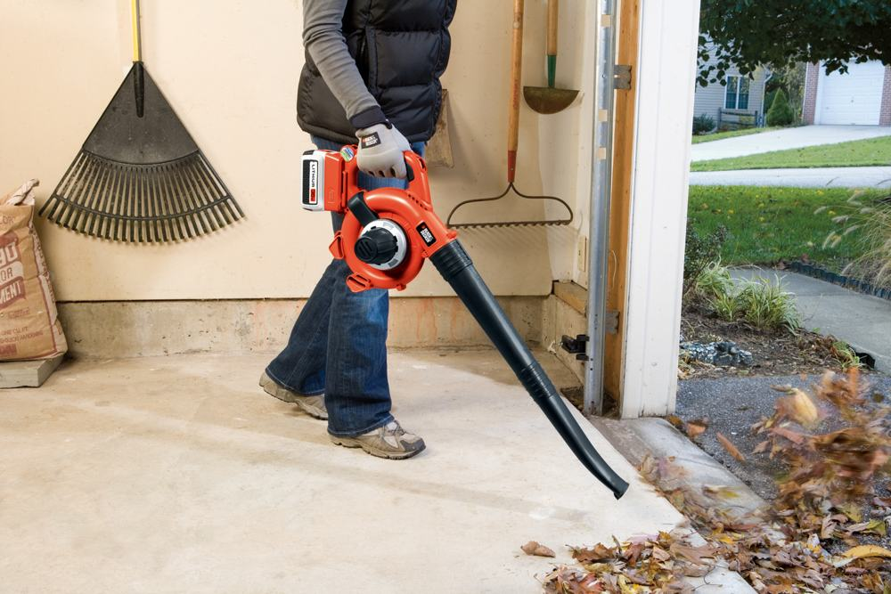black and decker leaf vacuum instructions