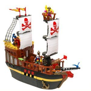 playmobil red corsair pirate ship instructions