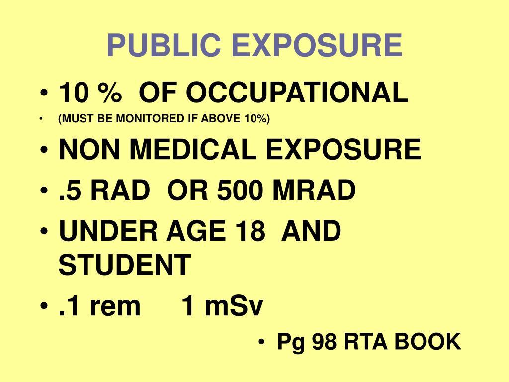 nrc instruction concerning prenatal radiation exposure