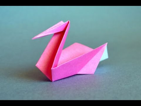 origami instructions for pelican