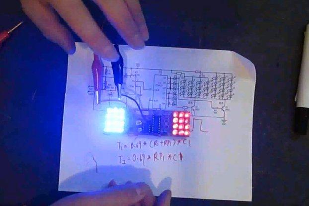 icstation 4x4x4 light cube instructions