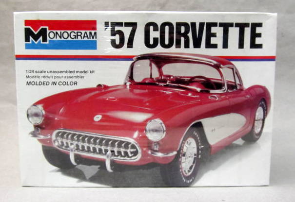 monogram 1953 corvette instructions