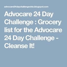 7 day rapid cleanse instructions