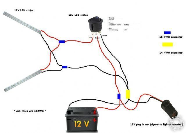 led strips diy instructions led pdr light wiring