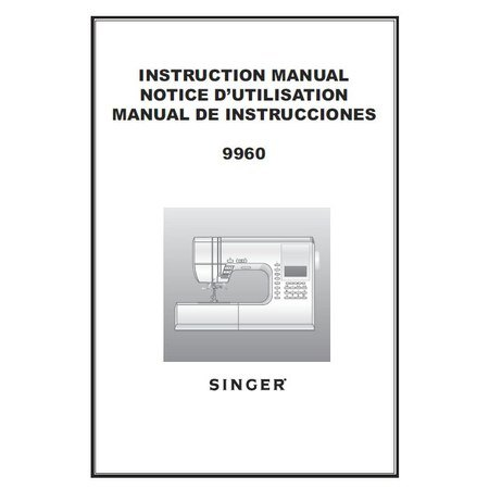 singer quantum decor instruction manual