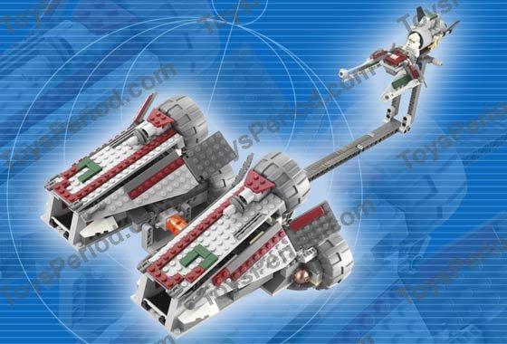 lego clone turbo tank 2005 instructions