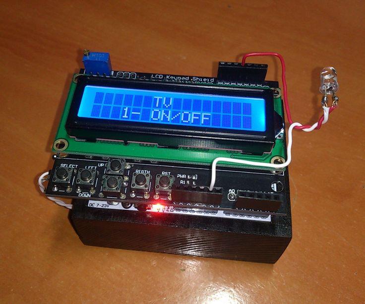 arduino ir remote instructables