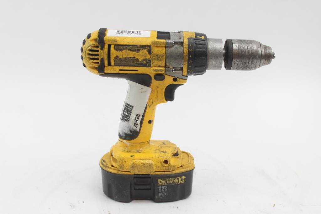 dewalt xrp hammer drill instructions