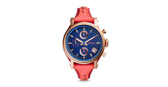 fossil boyfriend chronograph instructions