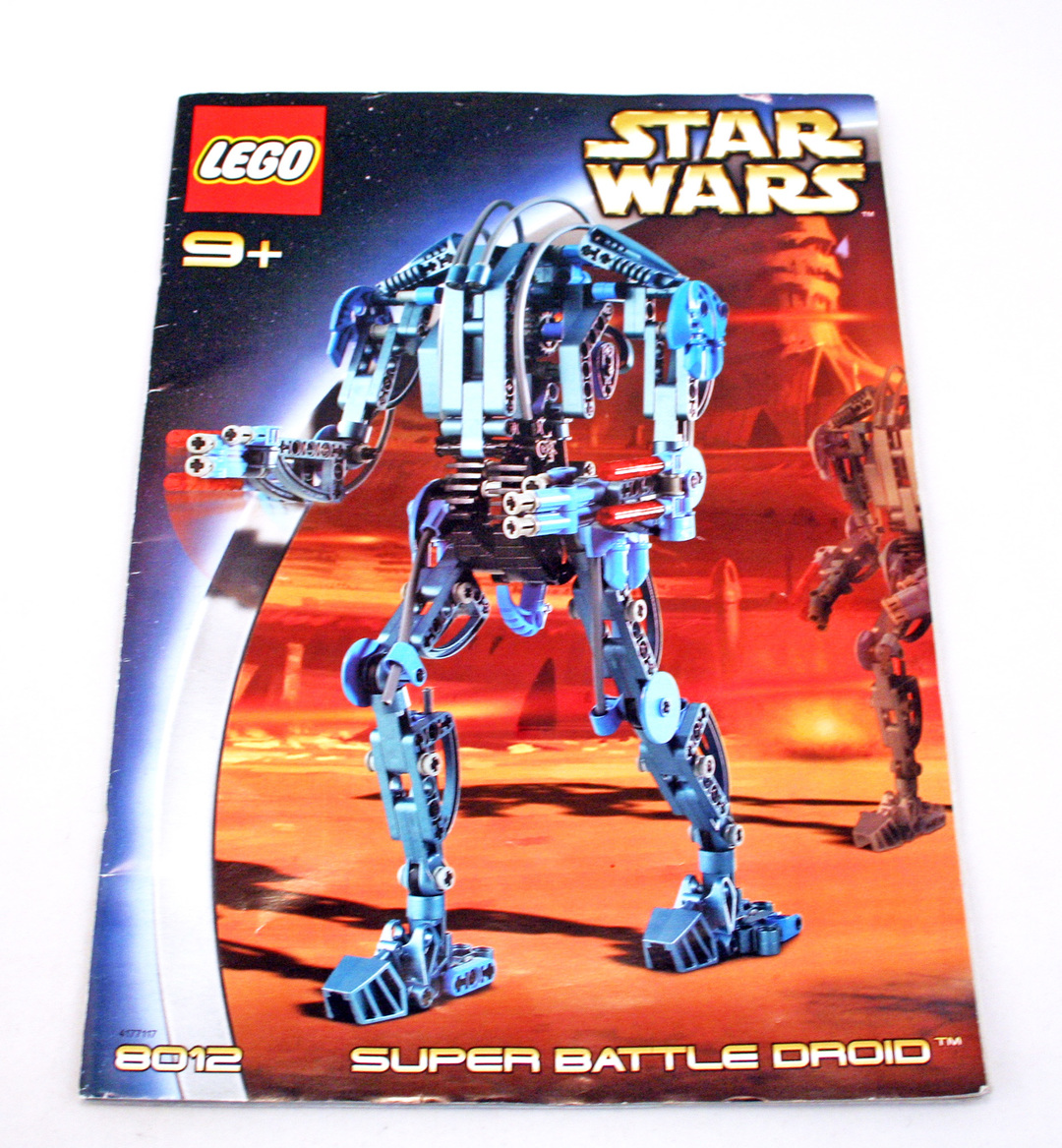 lego droid transport instructions