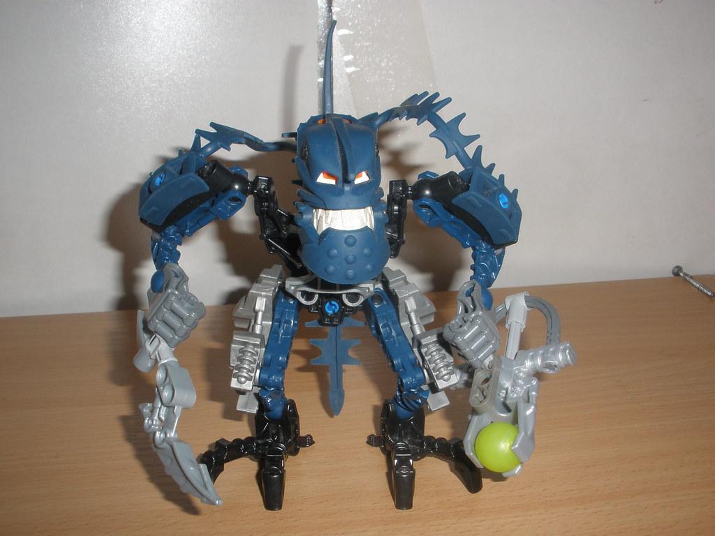 bionicle stars piraka instructions