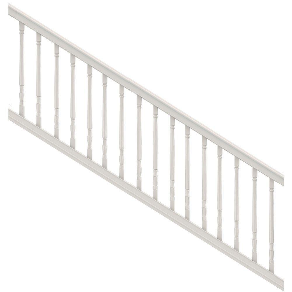 veranda poly composite rail kit instructions