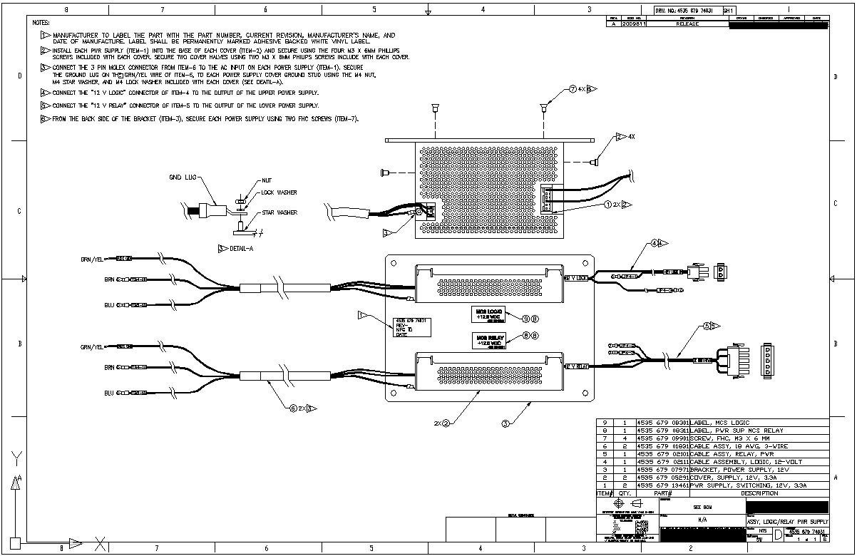 manufacturing drawings vs work instructions