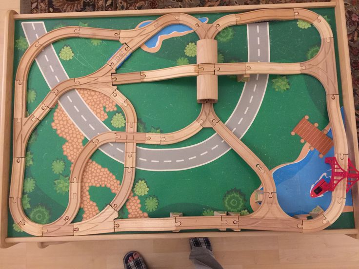 thomas the train wooden track instructions