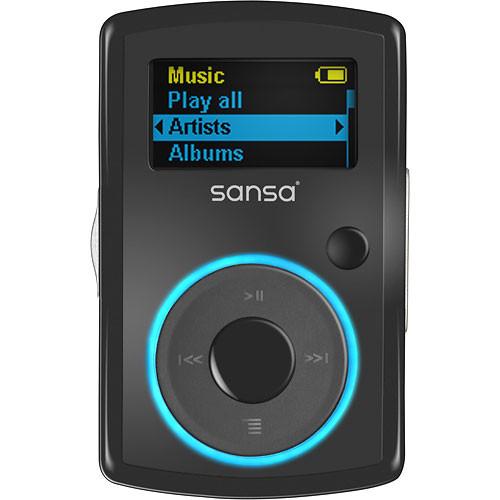 sansa music player instructions