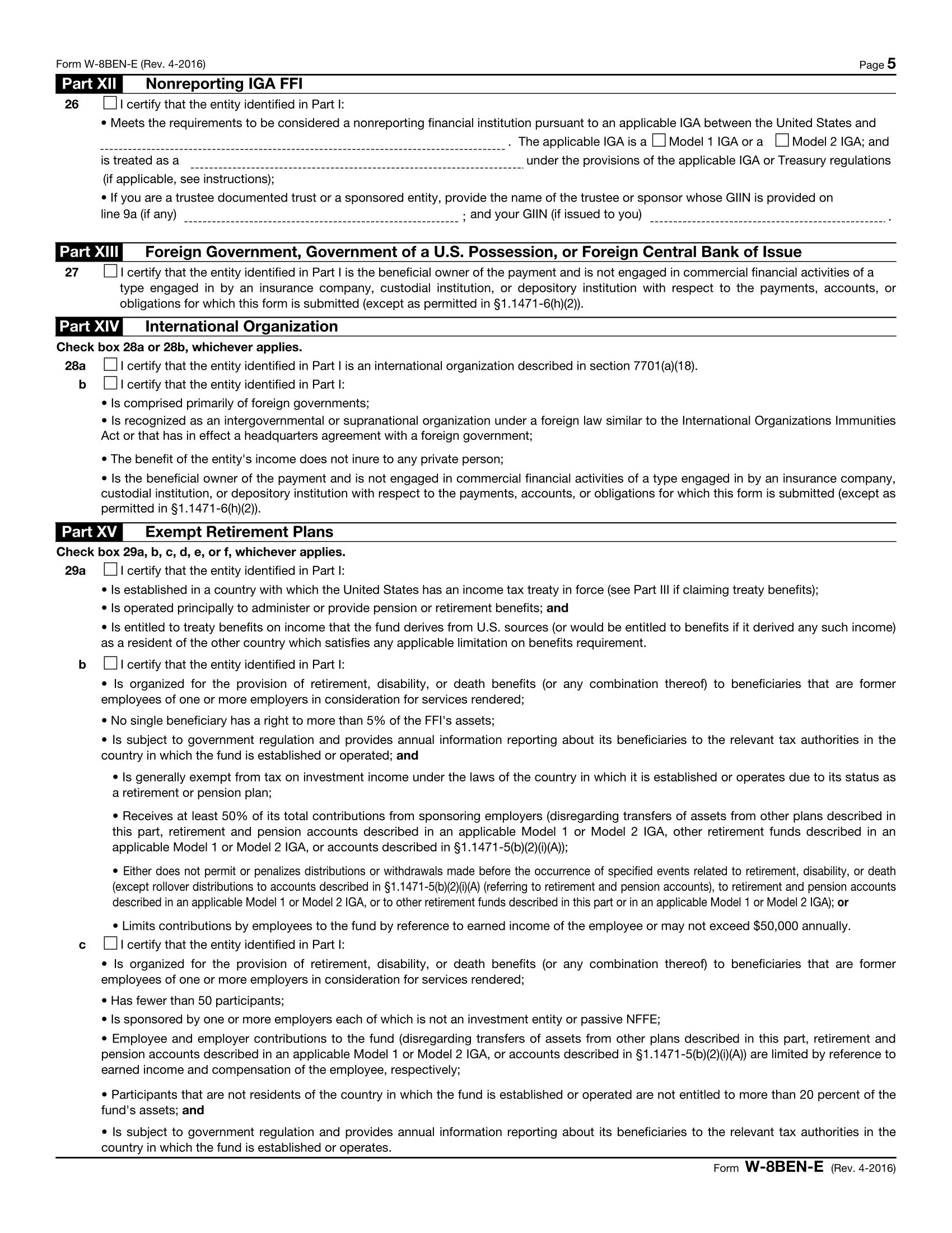 w8 ben e filing instructions