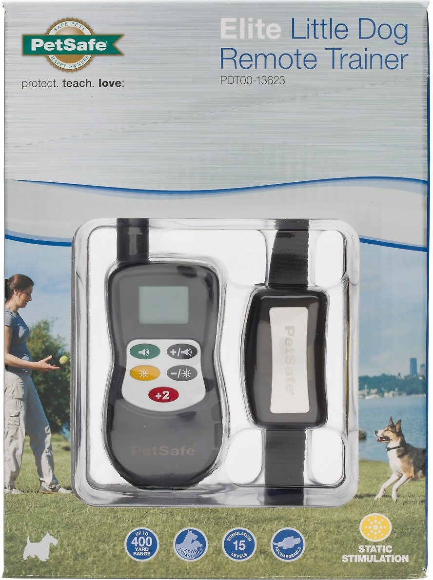 petsafe elite little dog remote trainer instructions