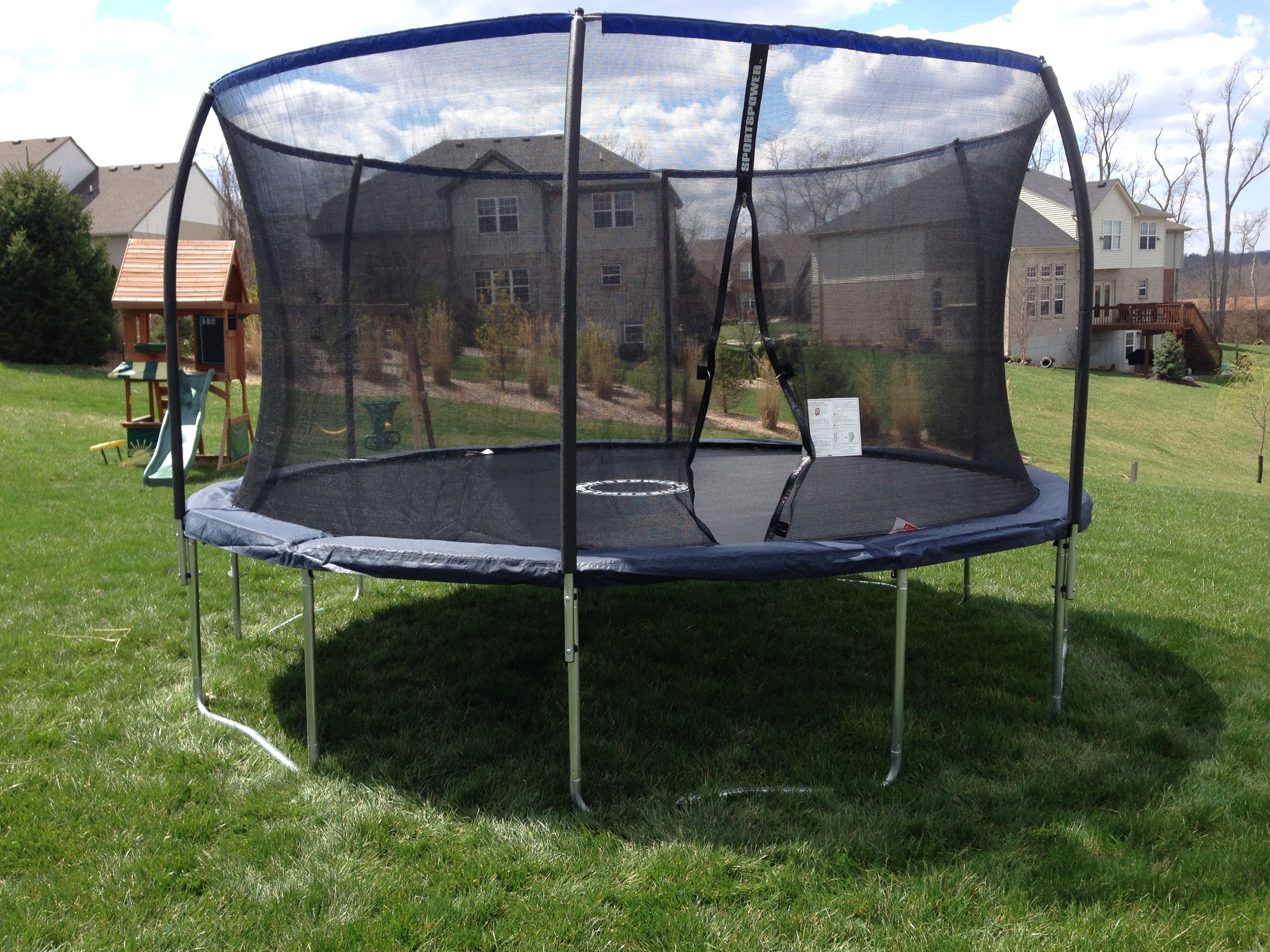 bounce pro trampoline 14 ft assembly instructions