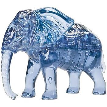 original 3d crystal puzzle instructions elephant