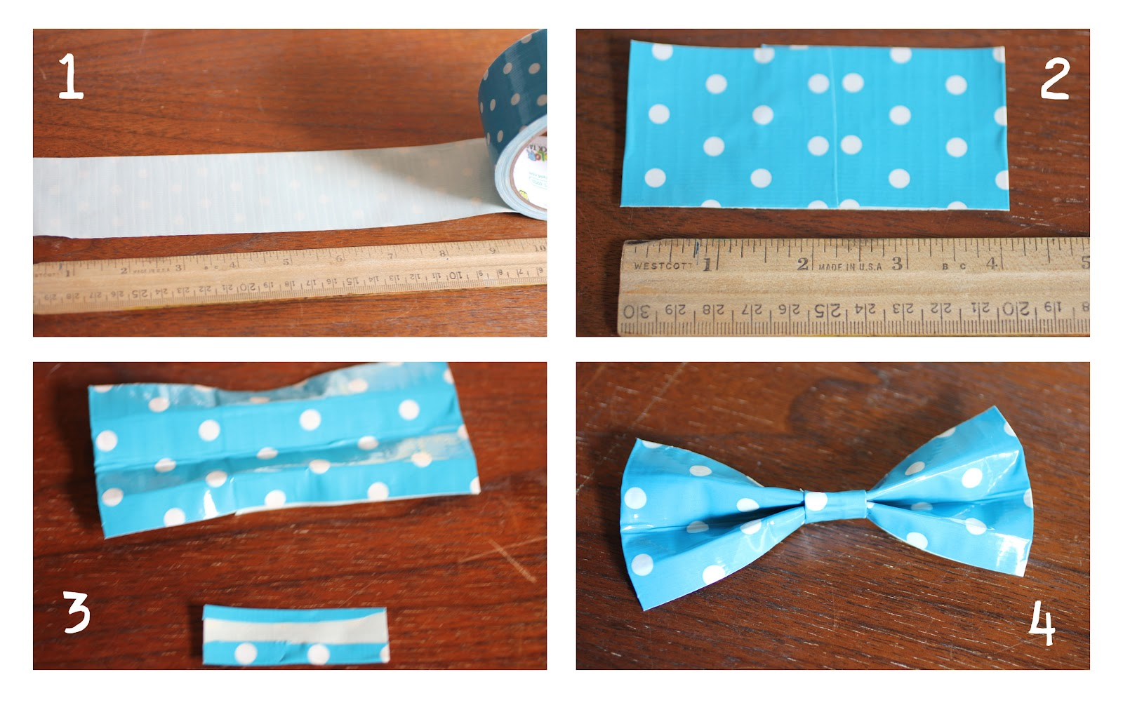 how to make a bow tie instructions