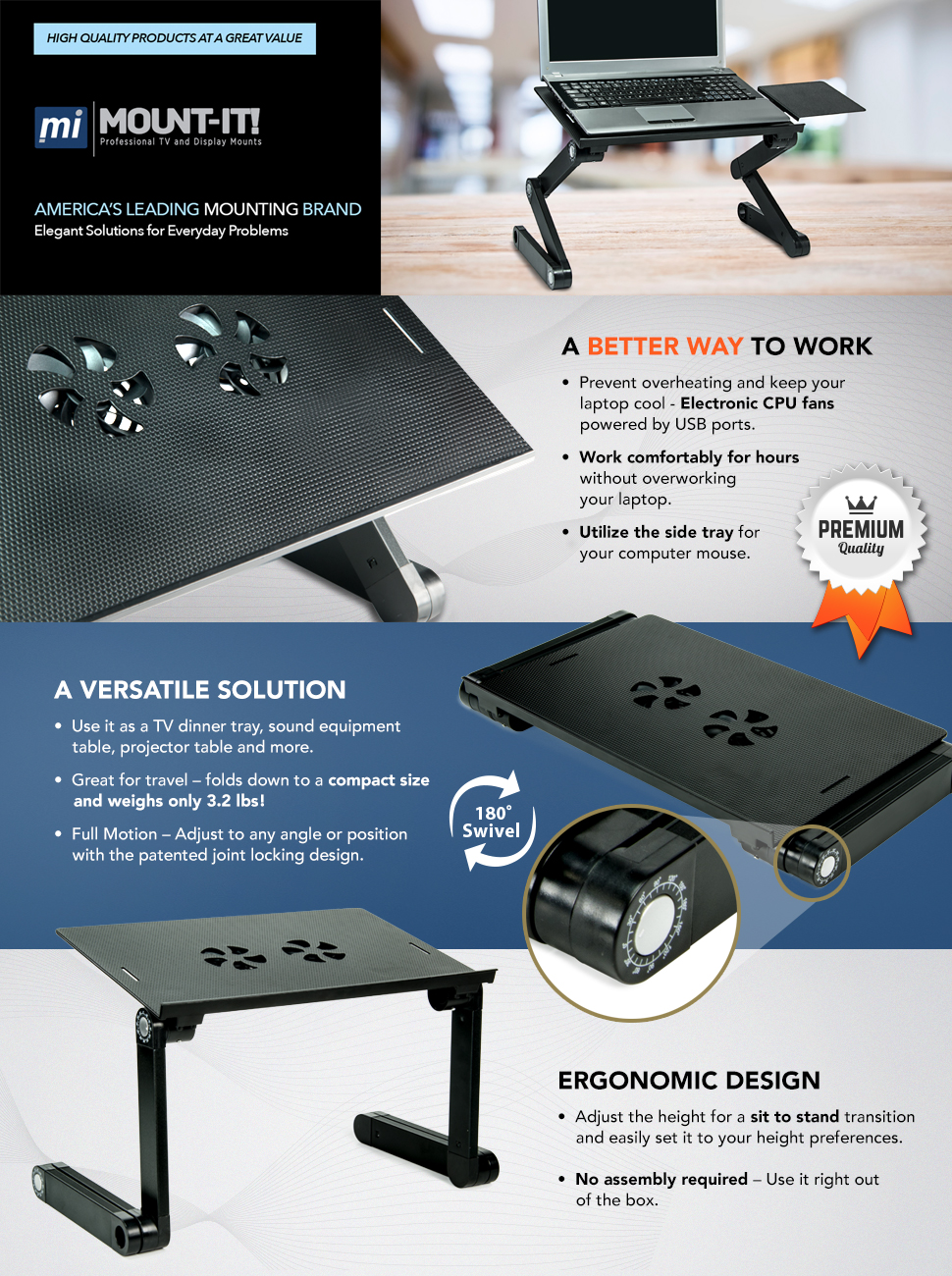 pwr laptop stand instructions