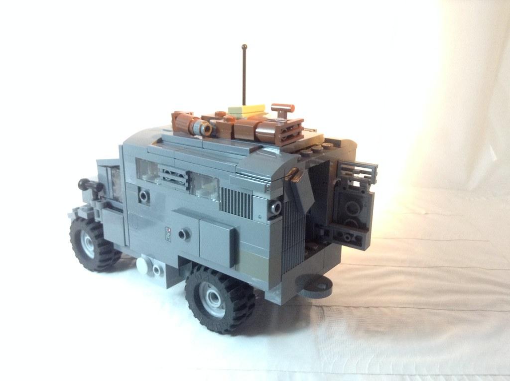 lego ww2 truck instructions