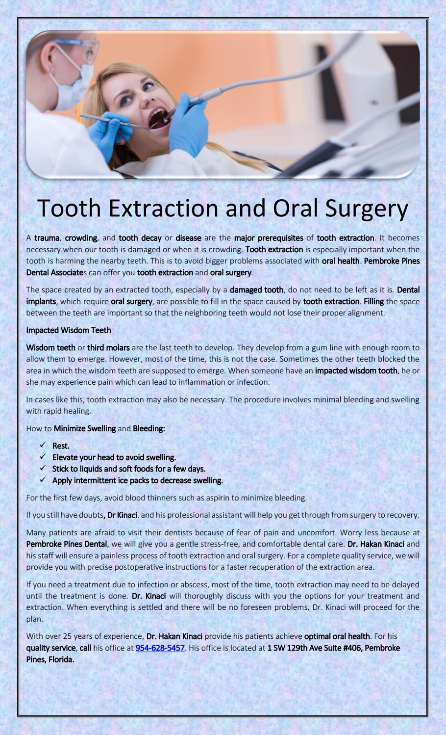 amoxicillin instructions for tooth extraction