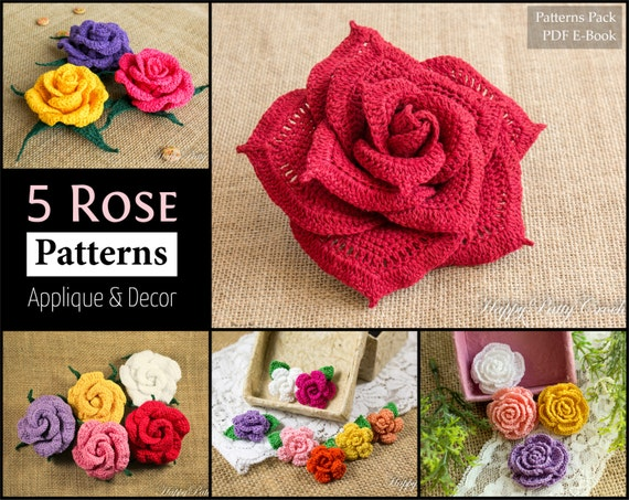 rose petal cottage written instructions