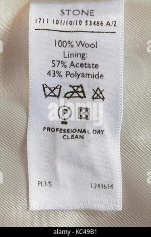 acetate fabric care instructions