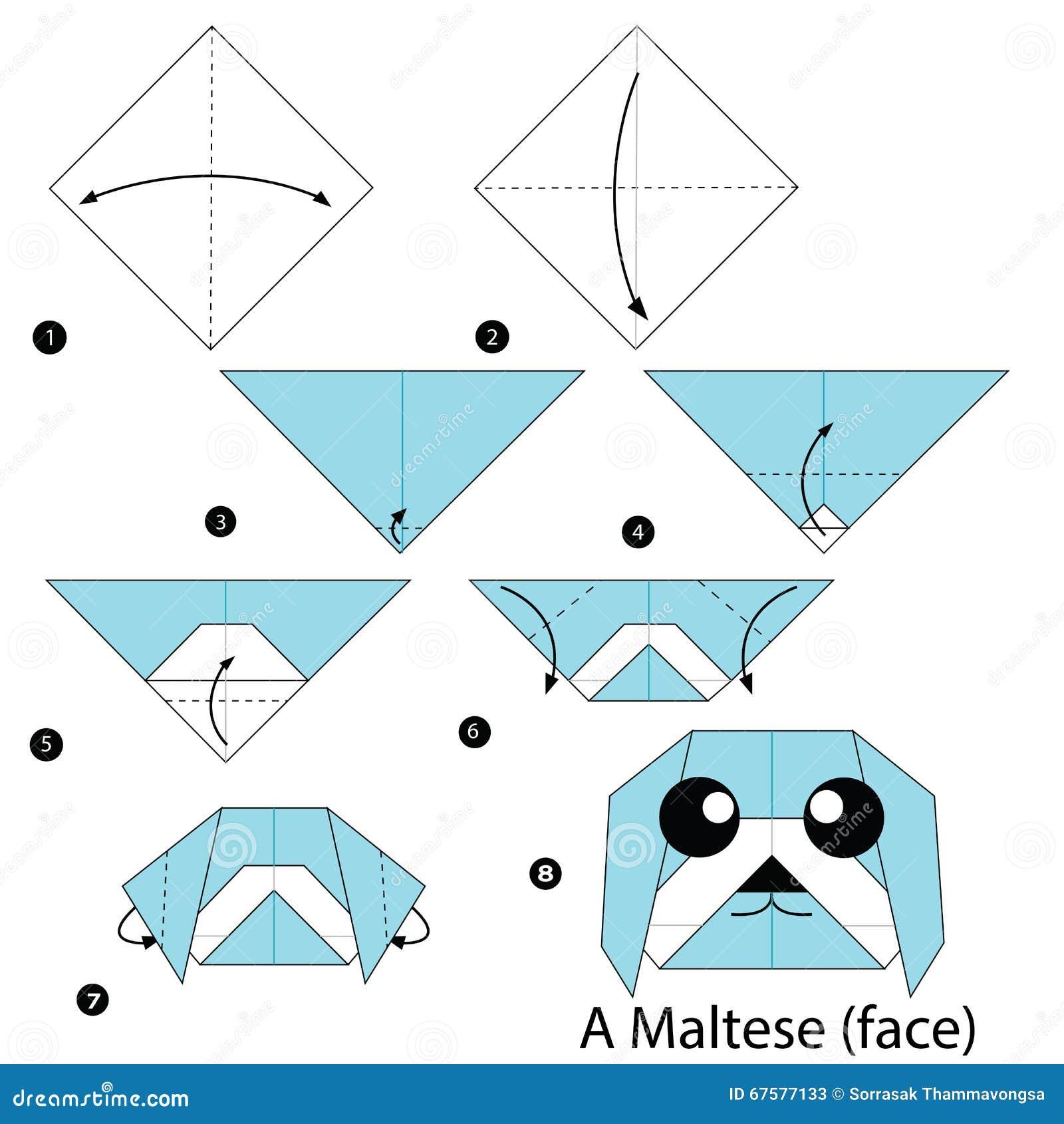 3d origami mini penguin instructions